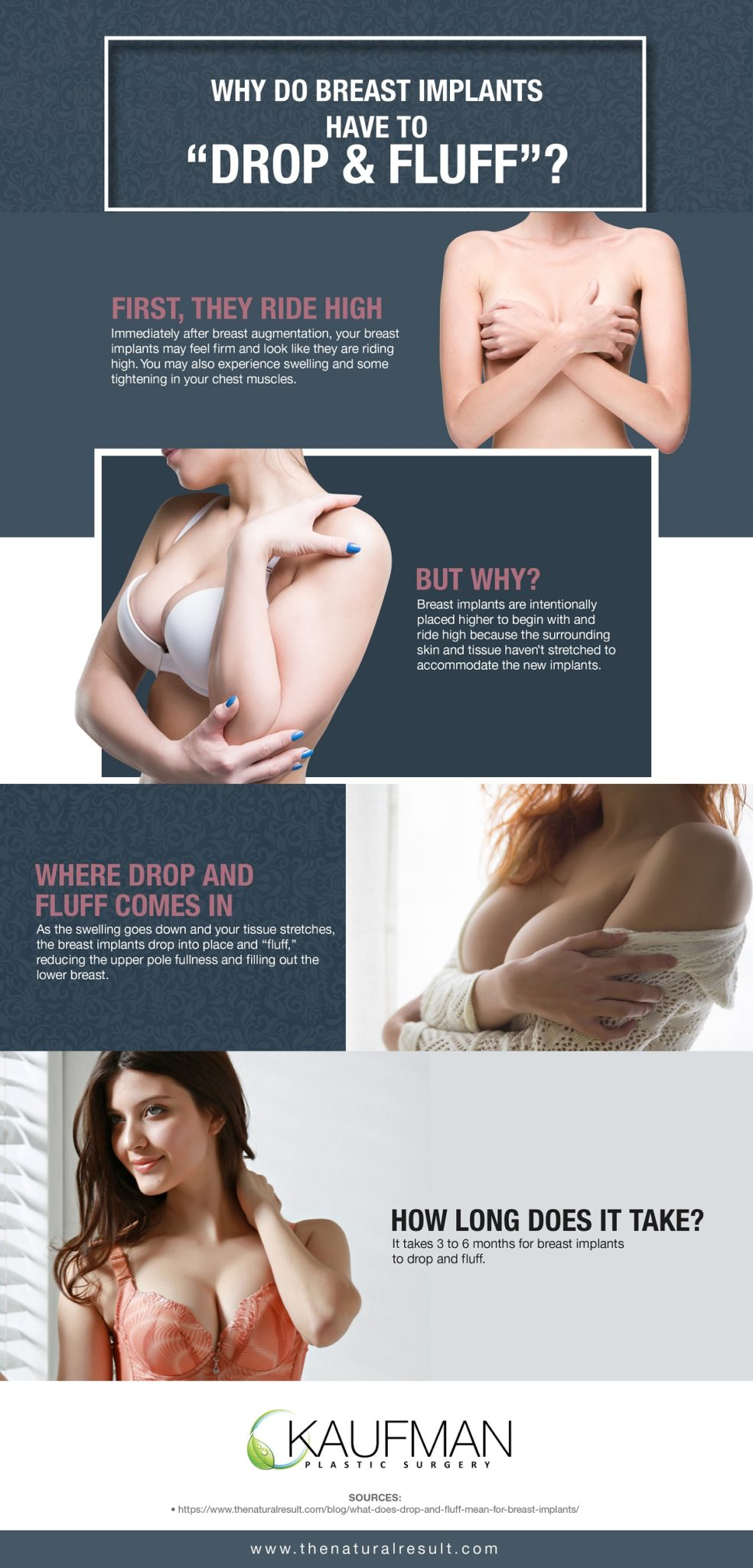 """Why Do Breast Implants Have to """"Drop & Fluff"""" [Infographic] img 1"""
