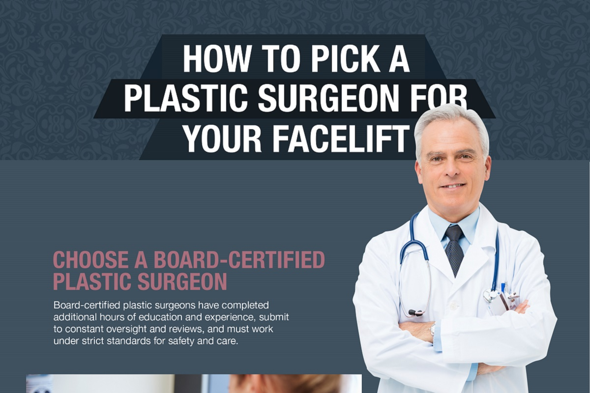 How to Pick a Plastic Surgeon for Your Facelift [Infographic]